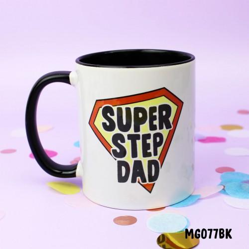 Super Step Dad Mug