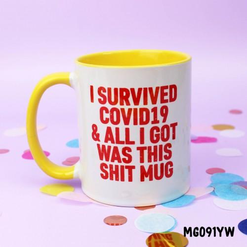 Covid19 Survivor Mug