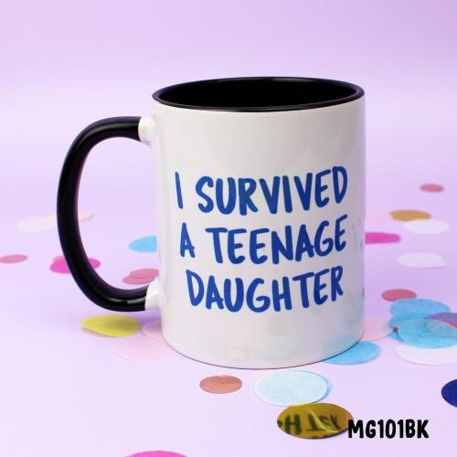 Teenage Daughter Blue