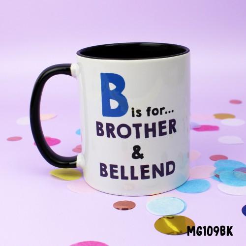 B for Brother Mug