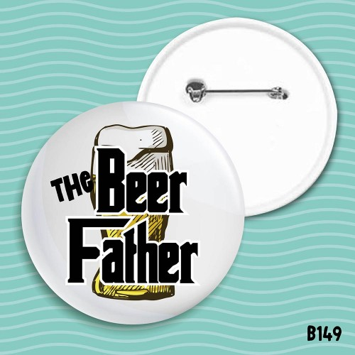 Beer Father Badge