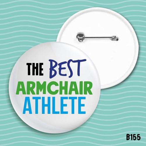 Armchair Athlete Badge