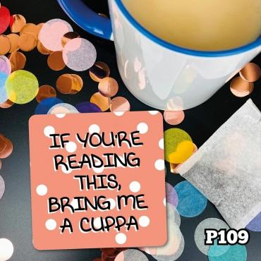Make a Cuppa Coaster