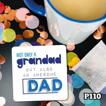 Grandad Dad Coaster