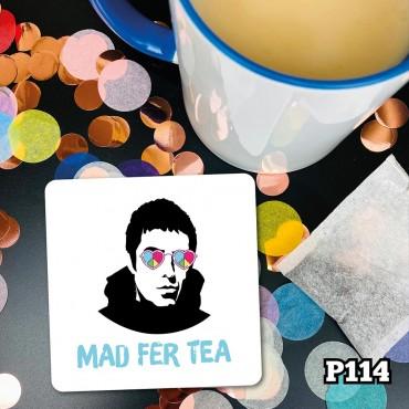 Mad For Tea Coaster