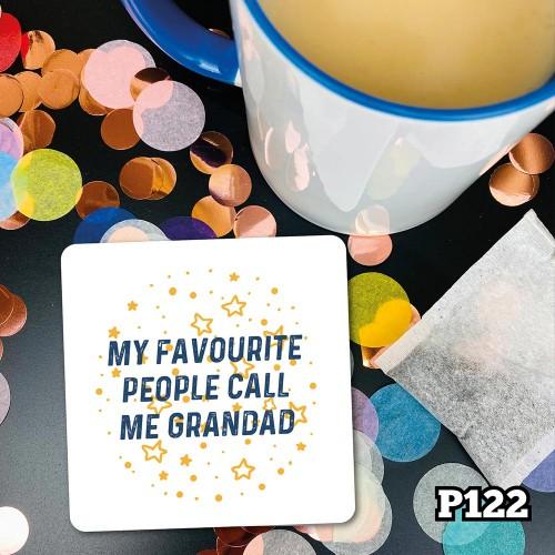 Fave People Grandad Coaster
