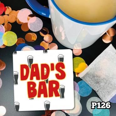 Dads Bar Coaster