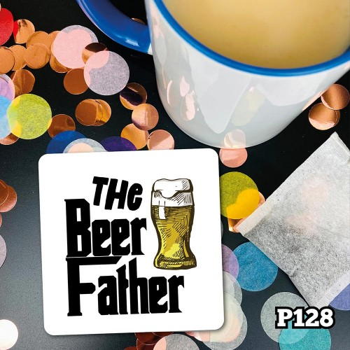 Beer Father Coaster