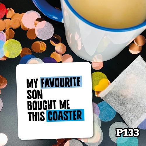 Favourite Son Coaster