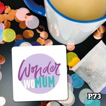 Wonder WoMum Coaster