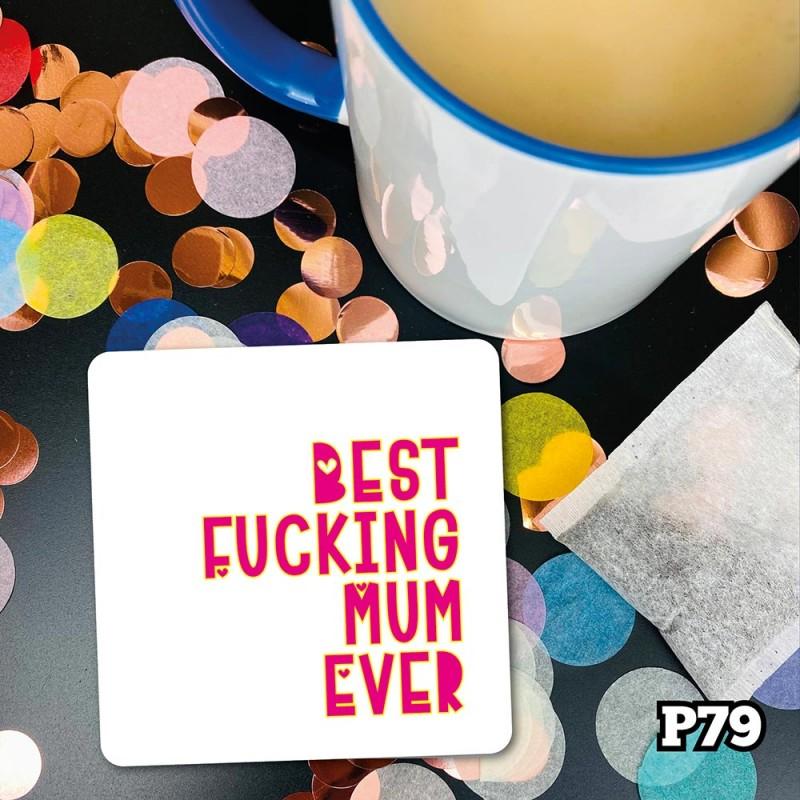 Best Mum Coaster