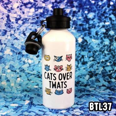 Cats Twats Bottle