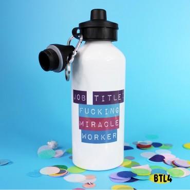 Job Title Bottle
