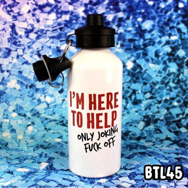 Here to Help Bottle