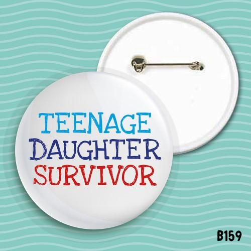 Teenage Daughter Badge