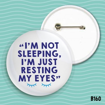 Resting Eyes Badge