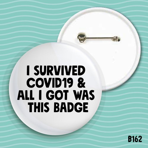 Survived Covid19 badge