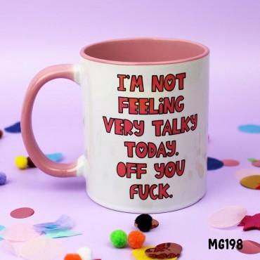 Not Talky Mug