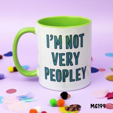 Not Peopley Mug