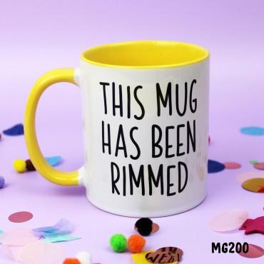 Rimmed Mug