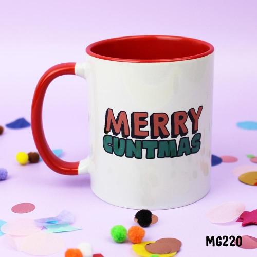 Merry Cuntmas Mug