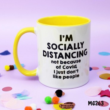 Socially Distancing Mug