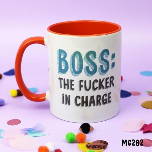 Boss Fucker Mug