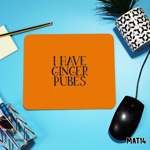 Ginger Mouse Mat
