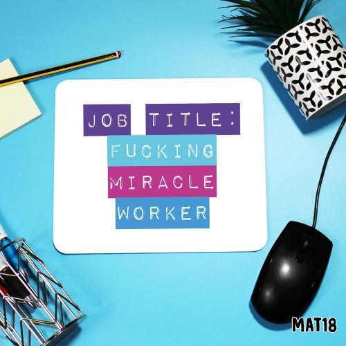 Job Title Mouse Mat