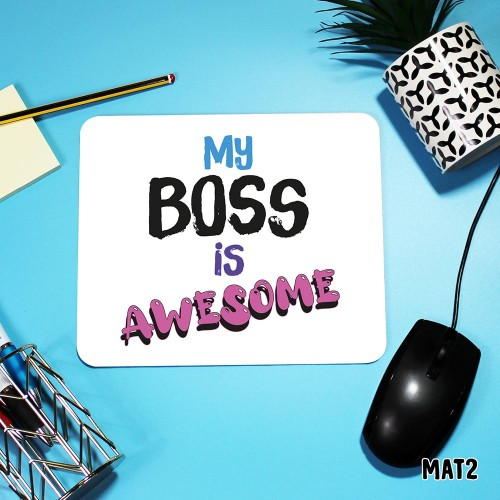 Awesome Boss Mouse Mat