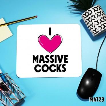 Massive Cocks Mouse Mat