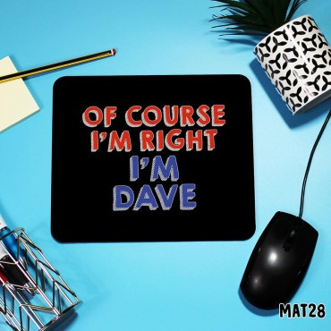 Dave Mouse Mat