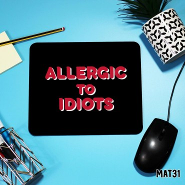 Allergic Mouse Mat