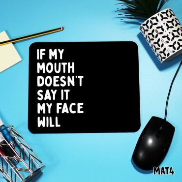 Face WIll Mouse Mat