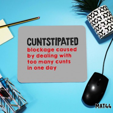 Cuntstipated Mouse Mat