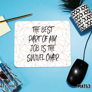 Swivel Chair Mouse Mat