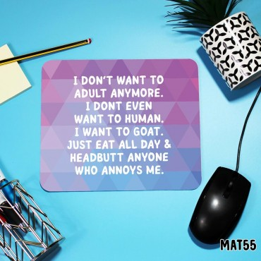 Be a Goat Mouse Mat