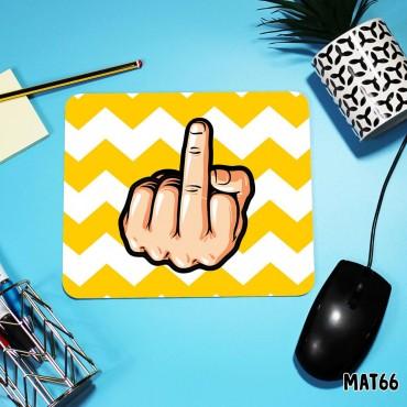 Middle Finger Mouse Mat