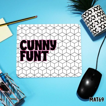 Cunny Funt Mouse Mat