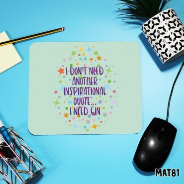 Inspo Quote Mouse Mat