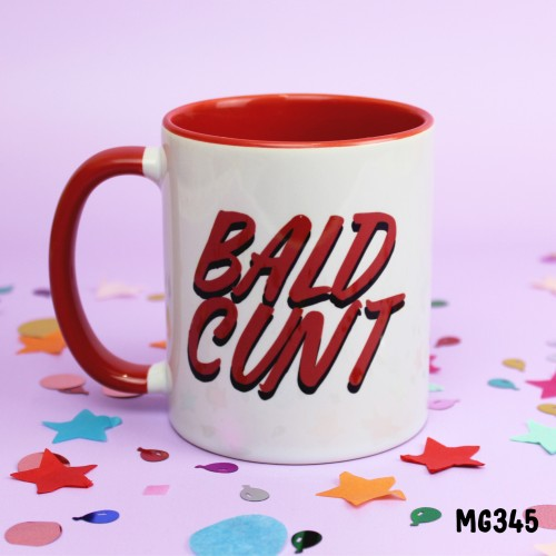 Bald Cunt Mug