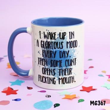 I Wake Up Mug