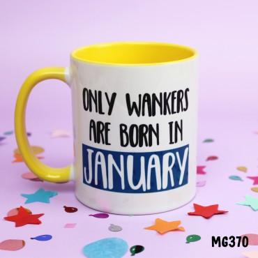 Wanker January Mug