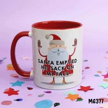 Santa emptied Sack Mug
