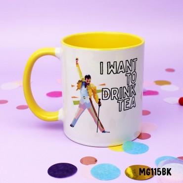 Freddie Drink Tea Mug
