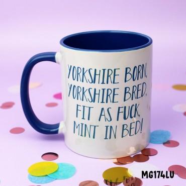 Yorkshire Born Mug