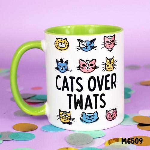 Cats over Twats Mug