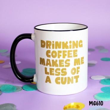 Drinking Coffee Mug