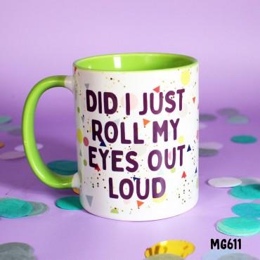 Roll Eyes Mug