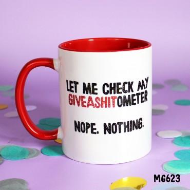 Shitometer Mug